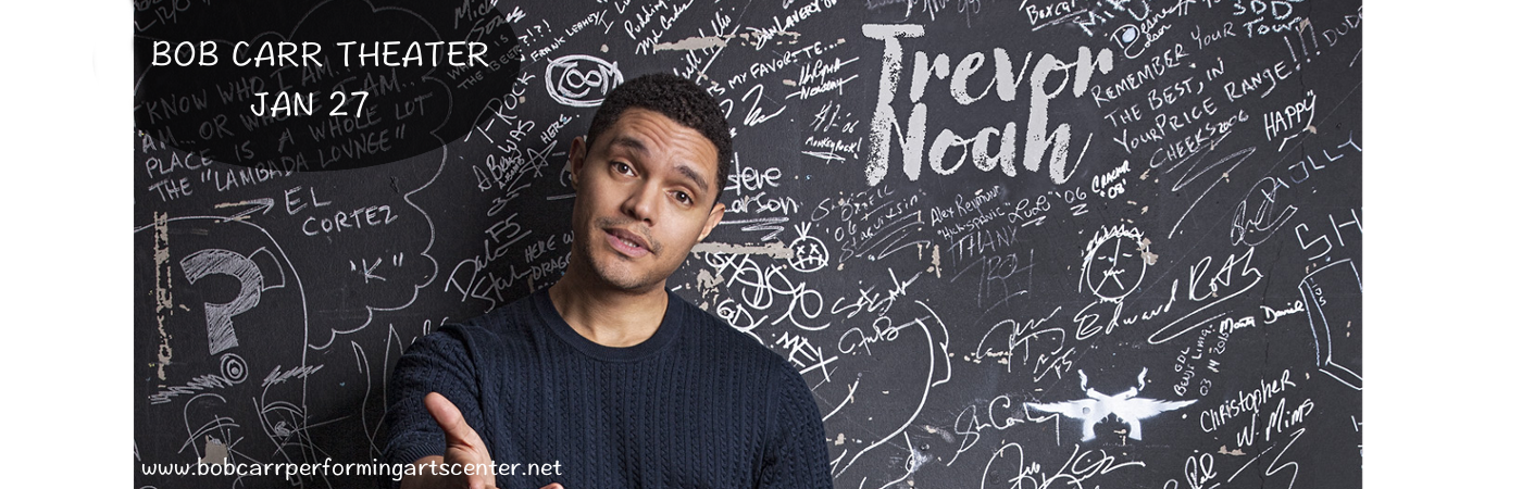 Trevor Noah at Bob Carr Theater