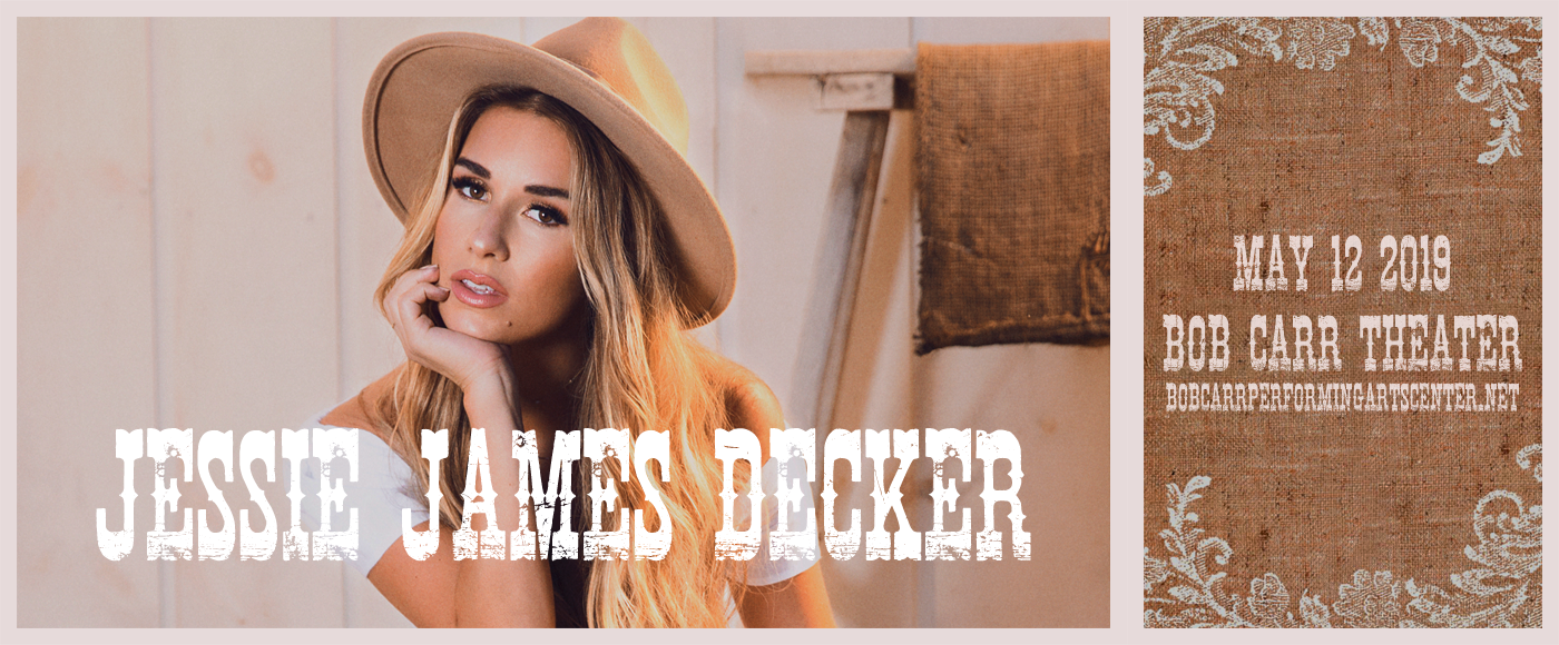 Jessie James Decker at Bob Carr Theater