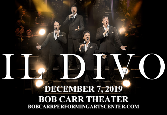 Il Divo at Bob Carr Theater