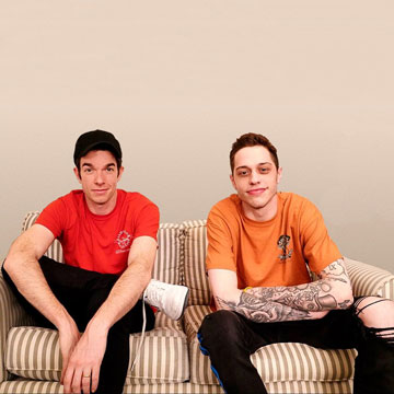 John Mulaney & Pete Davidson at Bob Carr Theater
