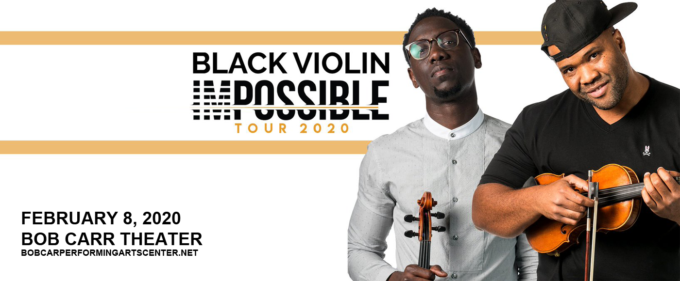 Black Violin at Bob Carr Theater