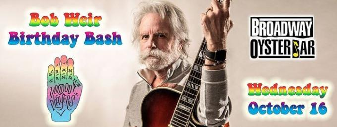 Bob Weir at Bob Carr Theater