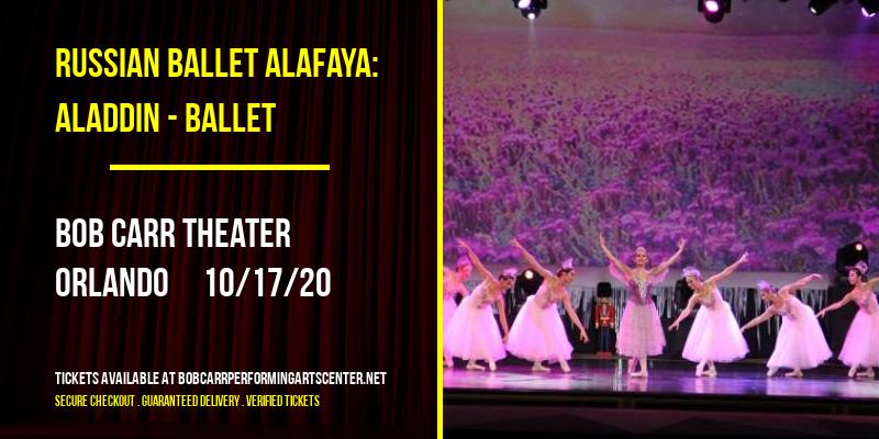 Russian Ballet Alafaya: Aladdin - Ballet at Bob Carr Theater